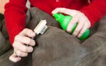 Чистка дублёнки в домашних условиях