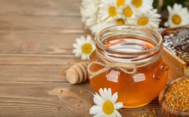 Цветочный мед в баночке