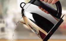 Способы и средства чистки электрического чайника от накипи