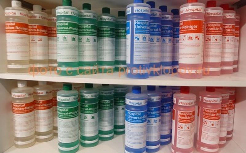 Магазинные средства против грибка