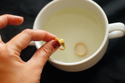 Золотое кольцо и кружка со вторым кольцом