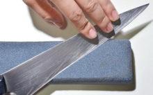Технология и особенности заточки ножей