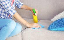 Как почистить диван в домашних условиях: эффективные способы