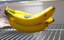 Как хранить бананы в домашних условиях: можно ли хранить в холодильнике, где хранить в квартире