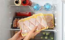 Сколько курица может храниться в морозилке?